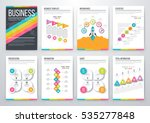 infographic vector set.... | Shutterstock .eps vector #535277848