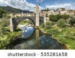 Medieval Bridge Of Besalu....