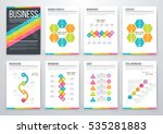 infographic vector set.... | Shutterstock .eps vector #535281883