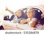 summer vacation  holidays ... | Shutterstock . vector #535286878