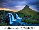 waterfalls  | Shutterstock . vector #535289923
