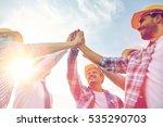 business  building  partnership ... | Shutterstock . vector #535290703