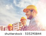 business  building  teamwork... | Shutterstock . vector #535290844