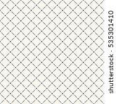 vector seamless pattern. modern ... | Shutterstock .eps vector #535301410