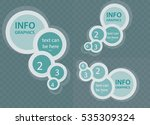 circle elements for infographic ... | Shutterstock .eps vector #535309324