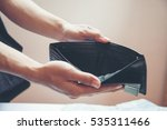 wallet empty when business...   Shutterstock . vector #535311466