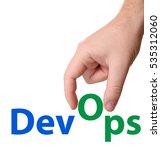 devops  development  ...   Shutterstock . vector #535312060