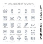 set  line icons with open path...   Shutterstock . vector #535318294