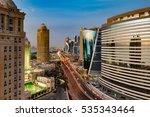 Doha  Qatar   Feb 12  A Skylin...
