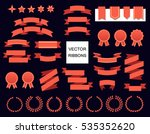 vector collection of decorative ... | Shutterstock .eps vector #535352620