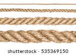 A Set Of Rope Of Different...