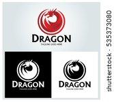 Dragon Logo Design Template ...