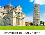 View Of The Pisa Cathedral And...