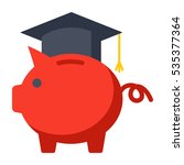 529 college savings plan...   Shutterstock .eps vector #535377364