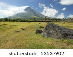 Mayon Volcano In Albay Provinc...