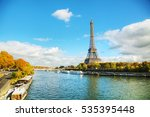 Cityscape Of Paris With The...