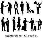 business people | Shutterstock .eps vector #53540611