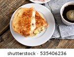 Breakfast Toast Sandwich With...