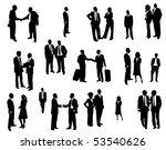 business people   Shutterstock .eps vector #53540626