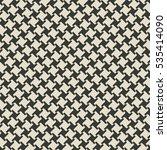 geometric monochrome seamless... | Shutterstock . vector #535414090