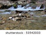 young waterfall   Shutterstock . vector #53542033