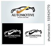 auto motive logo design... | Shutterstock .eps vector #535424770