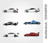 super car design concept.... | Shutterstock .eps vector #535430953