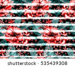 watercolor seamless stripped... | Shutterstock . vector #535439308