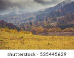 mountains near walbrzych in... | Shutterstock . vector #535445629