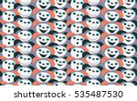 vector background with dogs... | Shutterstock .eps vector #535487530