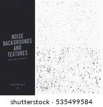grunge textures set. distressed ...   Shutterstock .eps vector #535499584