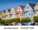 classic postcard view of famous ... | Shutterstock . vector #535507180