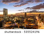 view of downtown bogota ... | Shutterstock . vector #535524196