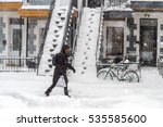 Snowstorm In Montreal....