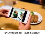 taking photo by cellphone... | Shutterstock . vector #535588804