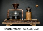 coffee drip | Shutterstock . vector #535633960