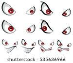 Four Expression For Cartoon...