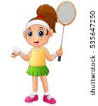 vector illustration of cartoon... | Shutterstock .eps vector #535647250