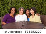 Small photo of Multicultural and mixed age group of women.