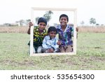 rural boy studying together | Shutterstock . vector #535654300