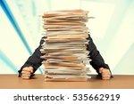 emotional stress. | Shutterstock . vector #535662919