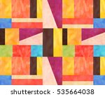 traditional pattern | Shutterstock . vector #535664038