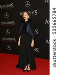 """Small photo of NEW YORK-DEC 13: Actress Marion Cotillard attends the screening of """"Assassin's Creed"""" at AMC Empire on December 13, 2016 in New York City."""
