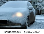 Car Covered Snow Full