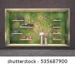 store exterior showcase big... | Shutterstock . vector #535687900