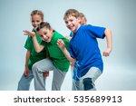 the kids dance school  ballet ...   Shutterstock . vector #535689913
