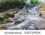 Beautiful Nature Waterfall In...