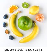 top view image of a healthy... | Shutterstock . vector #535762348