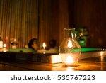 Lantern Over Blurred Private...