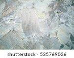 oil painting closeup texture... | Shutterstock . vector #535769026